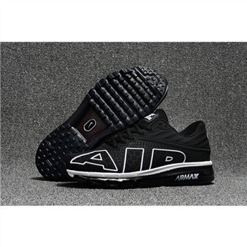 Nike Air Max Flair Mens Black White Shoes