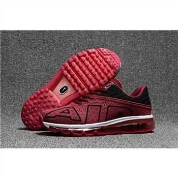 Nike Air Max Flair Mens Claret Black Shoes