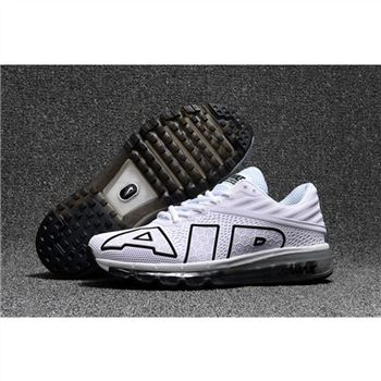 Nike Air Max Flair Mens White Black Shoes