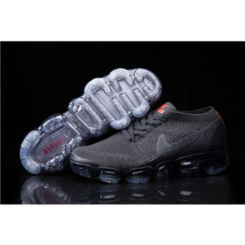 Mens Nike Air VaporMax Shoes Black Red