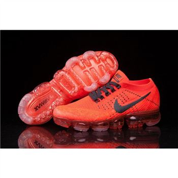 Mens Nike Air VaporMax Shoes Red Black