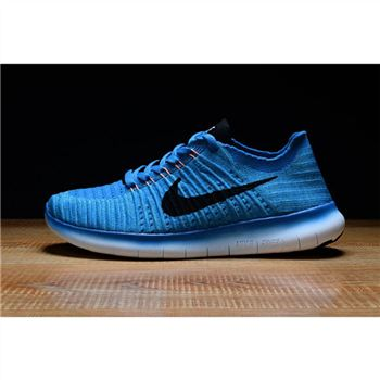 Mens Nike Free RN Shoes Blue