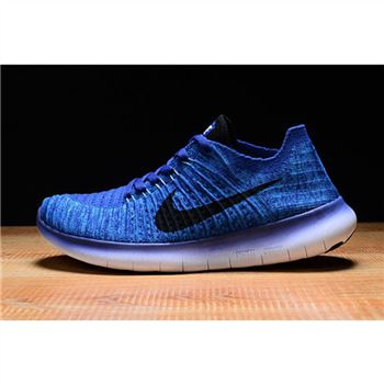 Mens Nike Free RN Shoes Saphire