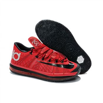 Mens Nike KD 6 Elite Red Black