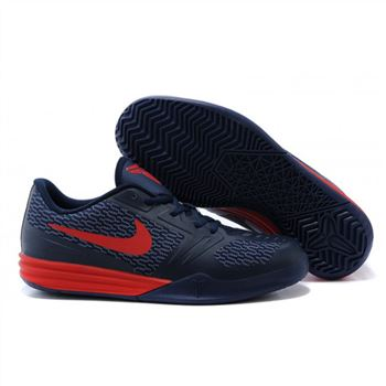 Mens Nike KB Mentality Navy Red