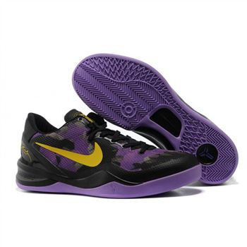 Mens Nike Kobe 8 Black Purple