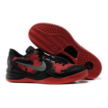 Mens Nike Kobe 8 Black Red